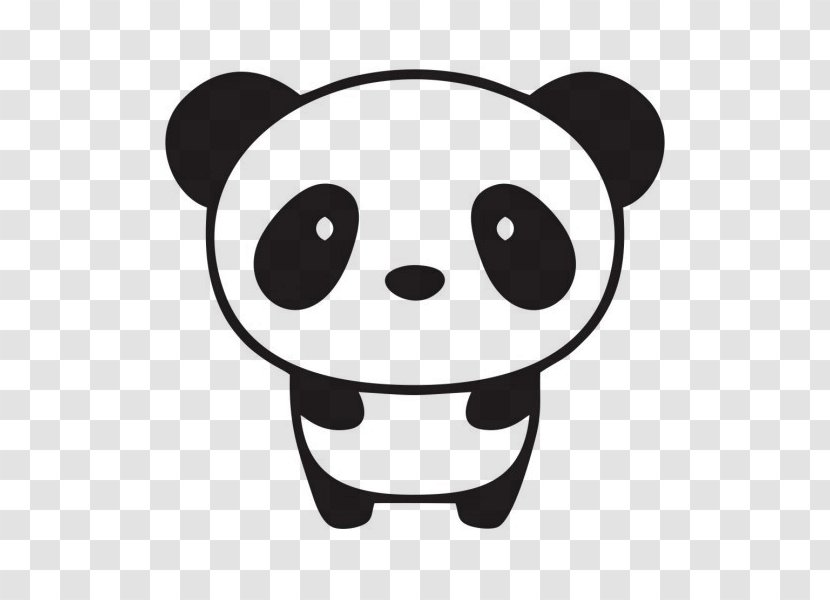 Giant Panda Bumper Sticker Wall Decal Tree Cool Stuff To Draw Transparent Png