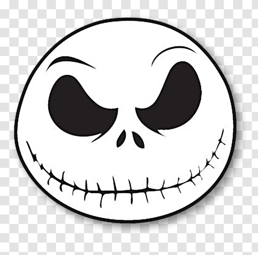 Jack Skellington The Nightmare Before Christmas Pumpkin King Decal Sticker Drawing Christmas Transparent Png