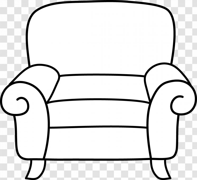 Table Chair Furniture Clip Art Living Room Cartoon Cliparts Transparent Png