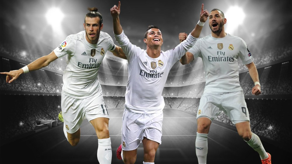 Image result for Benzema bale and Ronaldo