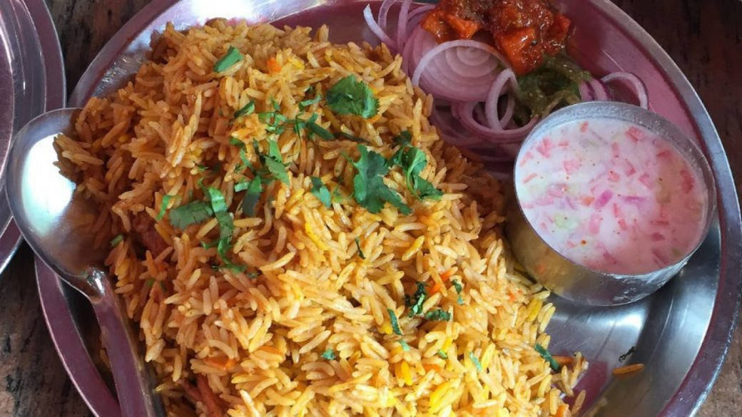 Famous Chicken Biryani in Delhi