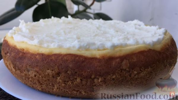 Рецепт: Творожный торт с фруктами (в мультиварке) на ...