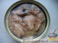 Рецепт: Салат из печени трески на RussianFood.com