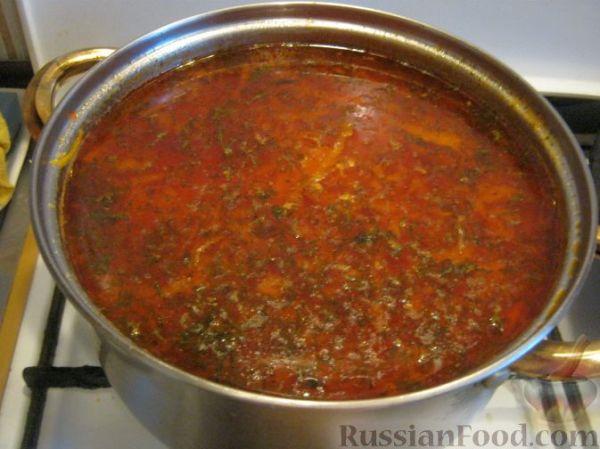 Рецепт: Борщ по-украински на RussianFood.com