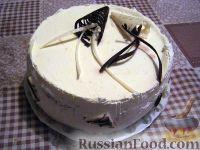 Рецепт: Вкусный бисквитный торт на RussianFood.com