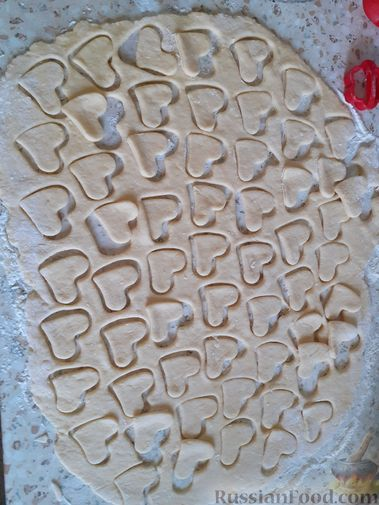 Рецепт: Песочное печенье на маргарине и сметане на ...
