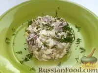 Рецепт: Салат с печенью трески на RussianFood.com