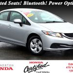 Used 2014 Honda Civic Sedan Lx At Edmundston Honda 40783