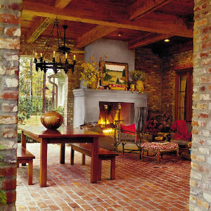 Comfortable Outdoor Porch - Southern Living on Southern Outdoor Living id=81595
