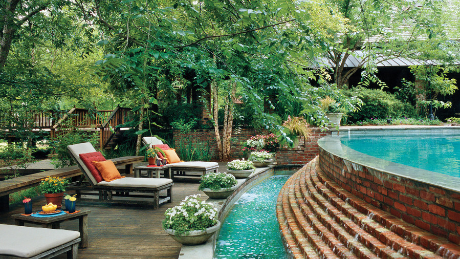 Sparkling Pools - Southern Living on Southern Pools And Outdoor Living  id=42606