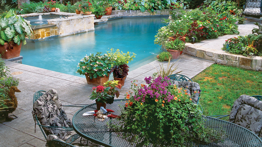 Sparkling Pools - Southern Living on Southern Pools And Outdoor Living id=48453