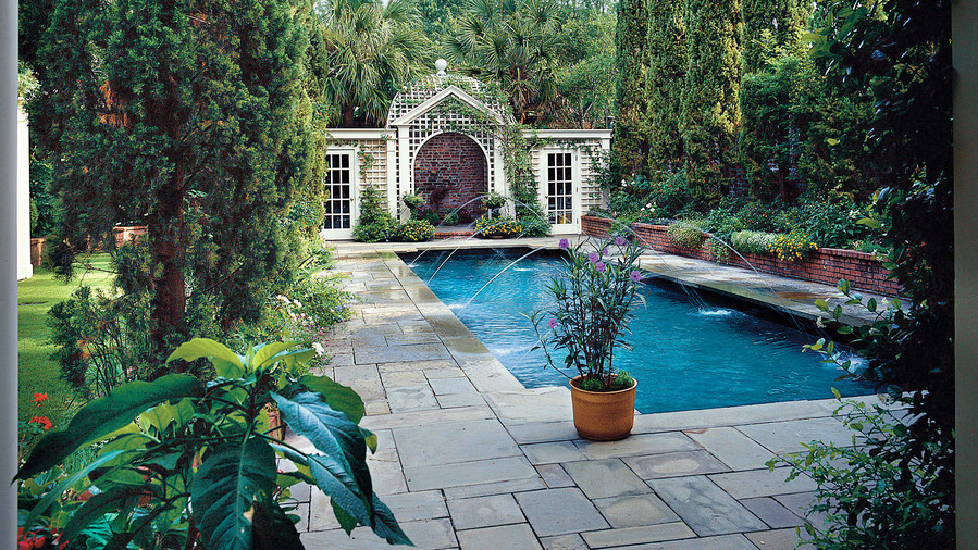 Sparkling Pools - Southern Living on Southern Pools And Outdoor Living  id=93245