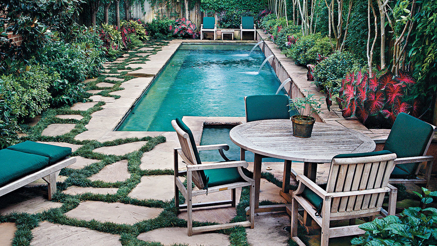 Sparkling Pools - Southern Living on Southern Pools And Outdoor Living  id=62434