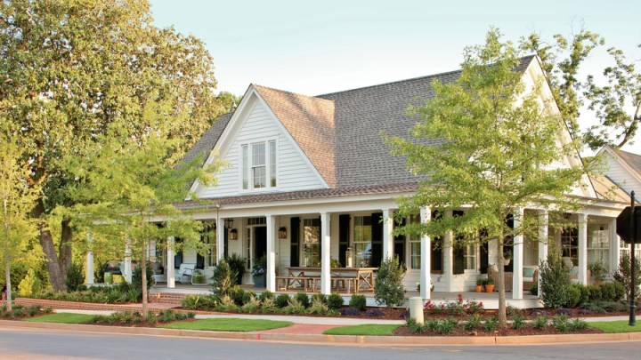 The Best Southern Living House Plans of 2017   Southern Living Farmhouse Revival Plan  1821