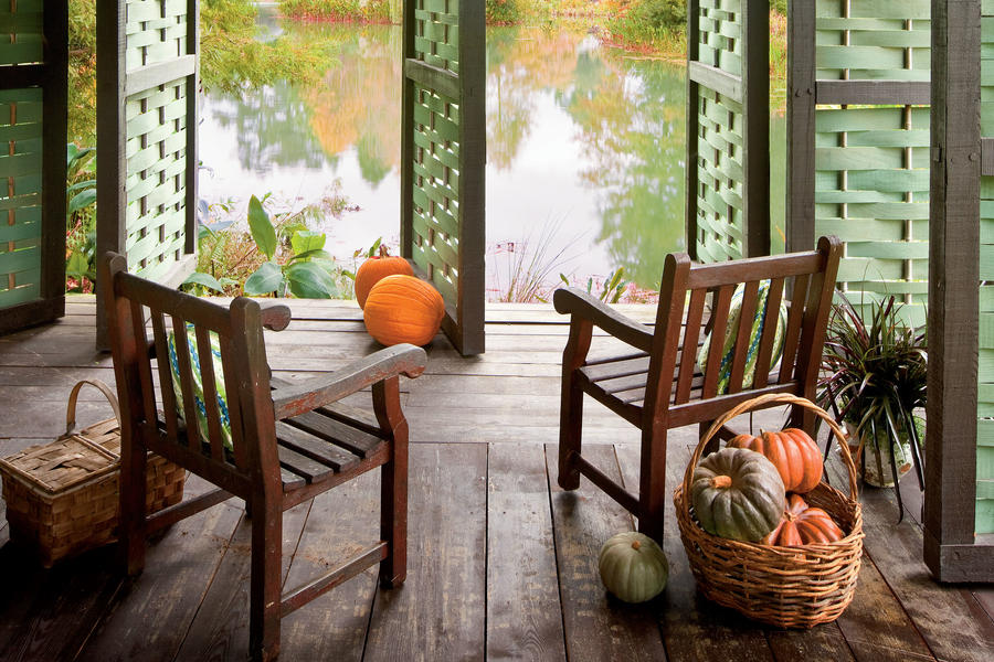 Botanical Garden Springhouse - Fall's Best Outdoor Rooms ... on Southern Outdoor Living id=87884
