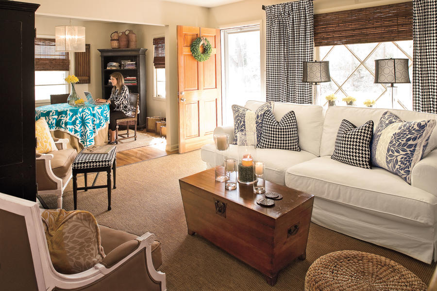 Buy the Whole Bolt - 106 Living Room Decorating Ideas ... on Living Room:5J0Grrq-Soy= Curtains Design  id=64693