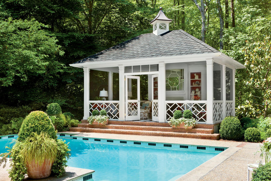 Poolside Perch - Sparkling Pools - Southern Living on Southern Pools And Outdoor Living  id=60208