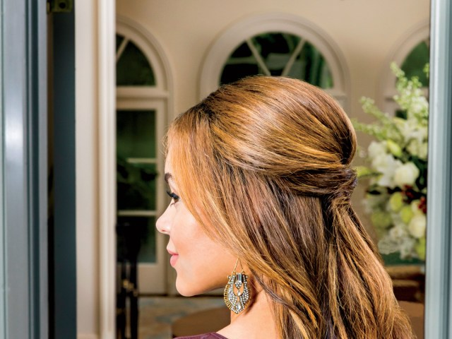 3 easy hairstyles to get you through every holiday party