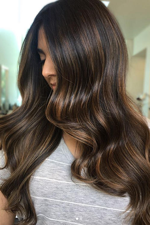Cold Brew Hair Is Trending For FallAnd Brunettes