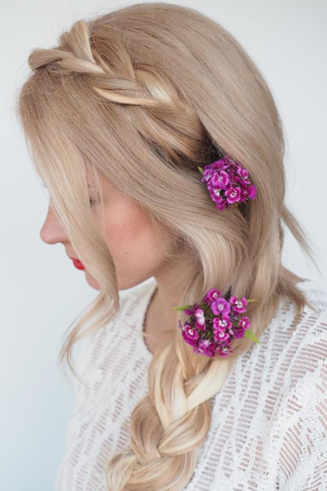 25 easy wedding hairstyles for guests that'll work for every