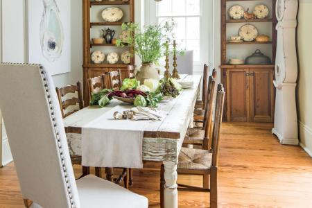 Stylish Dining Room Decorating Ideas   Southern Living Layer Neutrals for a Relaxed Look