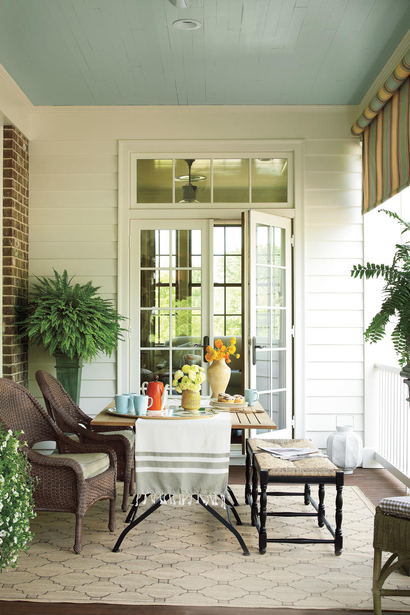 Bright Outdoor Dining Ideas - Southern Living on Side Patio Ideas id=30101