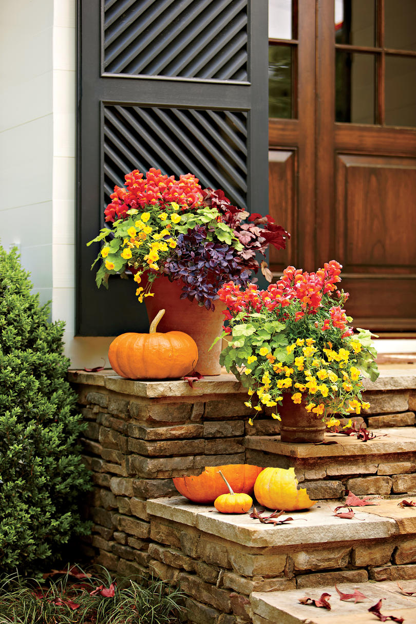 flower garden ideas and decorations Fall Container Gardening Ideas - Southern Living