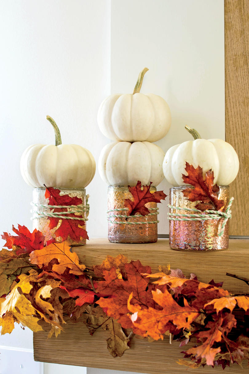 Fall Decorating Ideas  Southern Living Simple 10 Minute Rustic Fall Matel