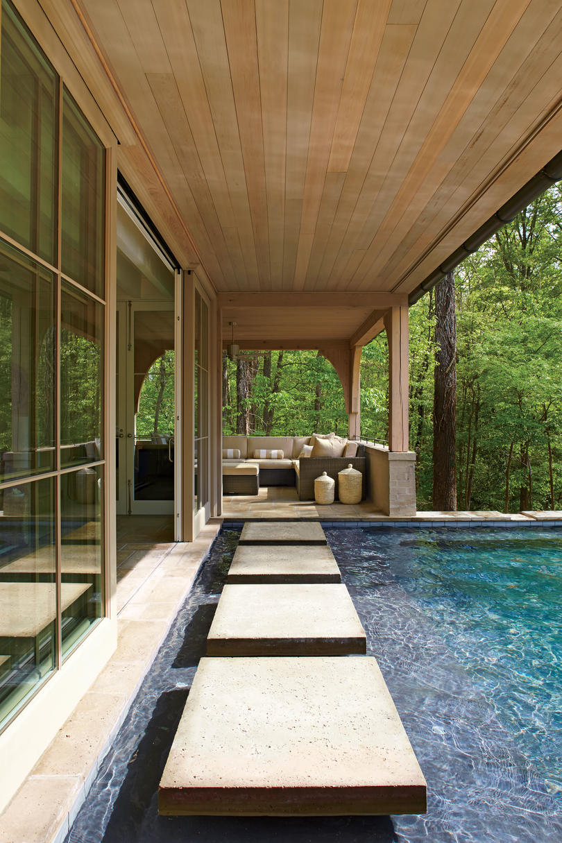 Sparkling Pools - Southern Living on Southern Pools And Outdoor Living  id=79385