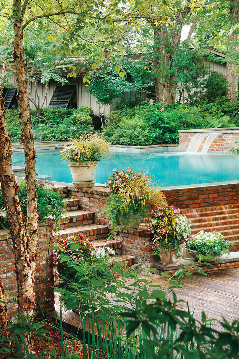 Sparkling Pools - Southern Living on Southern Pools And Outdoor Living id=53179