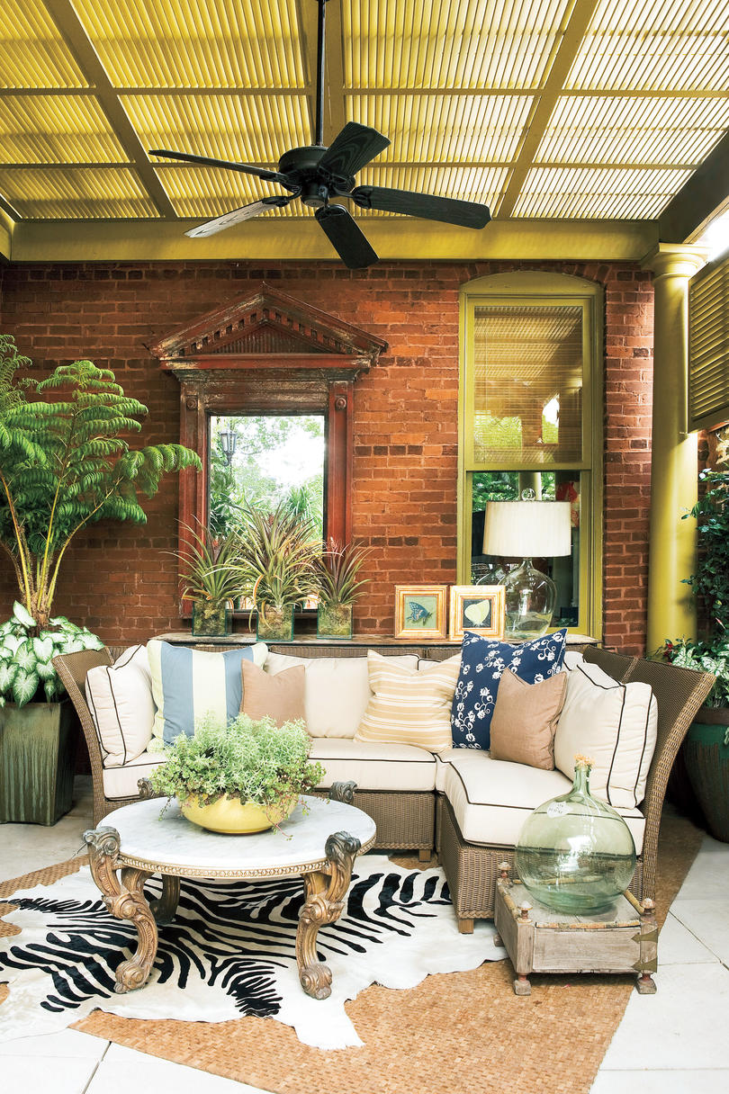 outdoor patio decorating ideas Porch Decorating Ideas - Southern Living