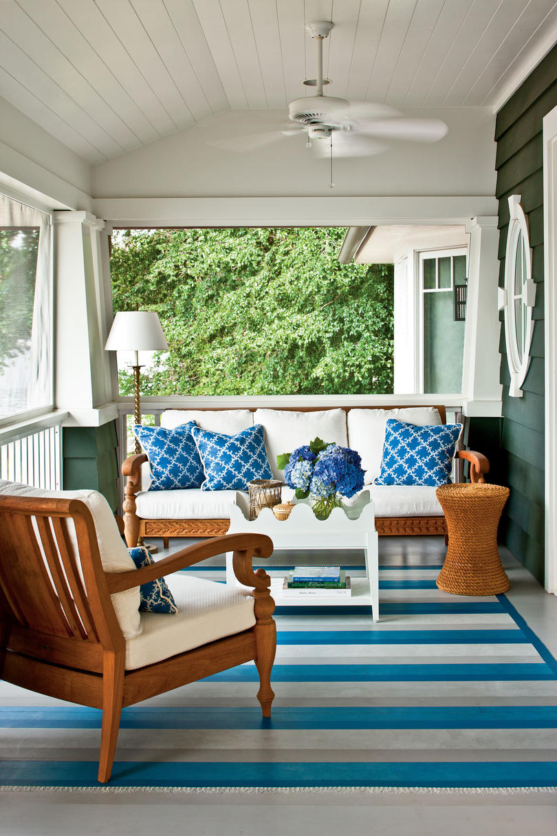 Porch and Patio Design Inspiration - Southern Living on Closed Patio Design id=12762
