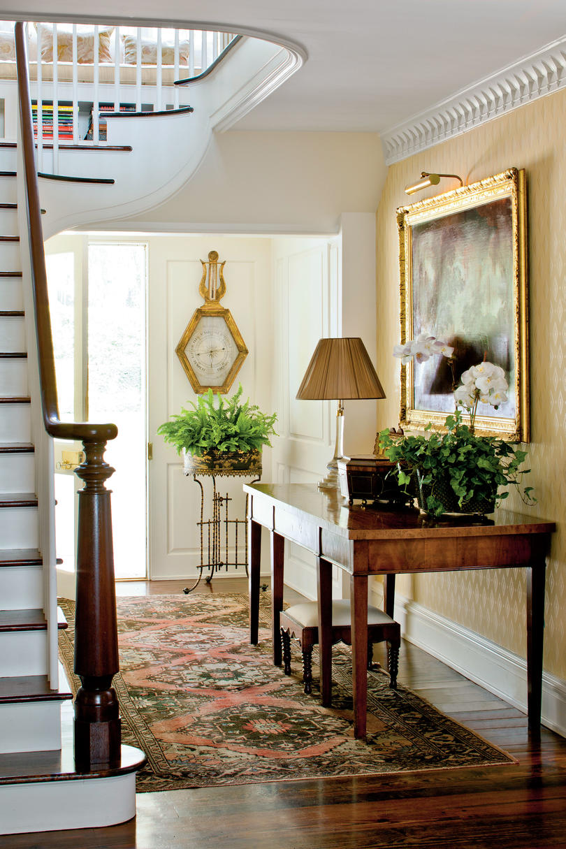 Fabulous Foyer Decorating Ideas - Southern Living on Living Decoration Ideas  id=80435