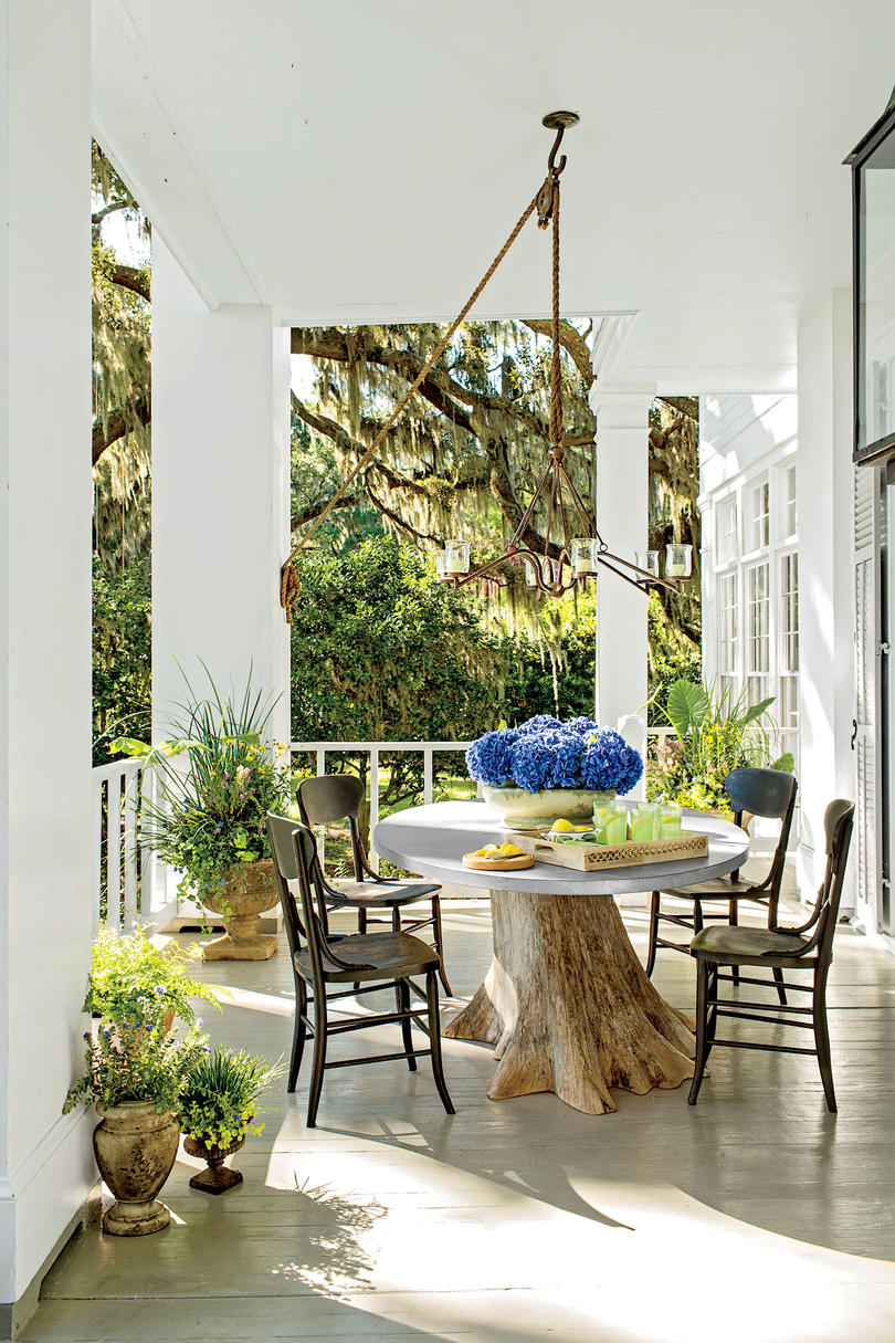 Porch and Patio Design Inspiration - Southern Living on Porch & Patio Casual Living id=77592