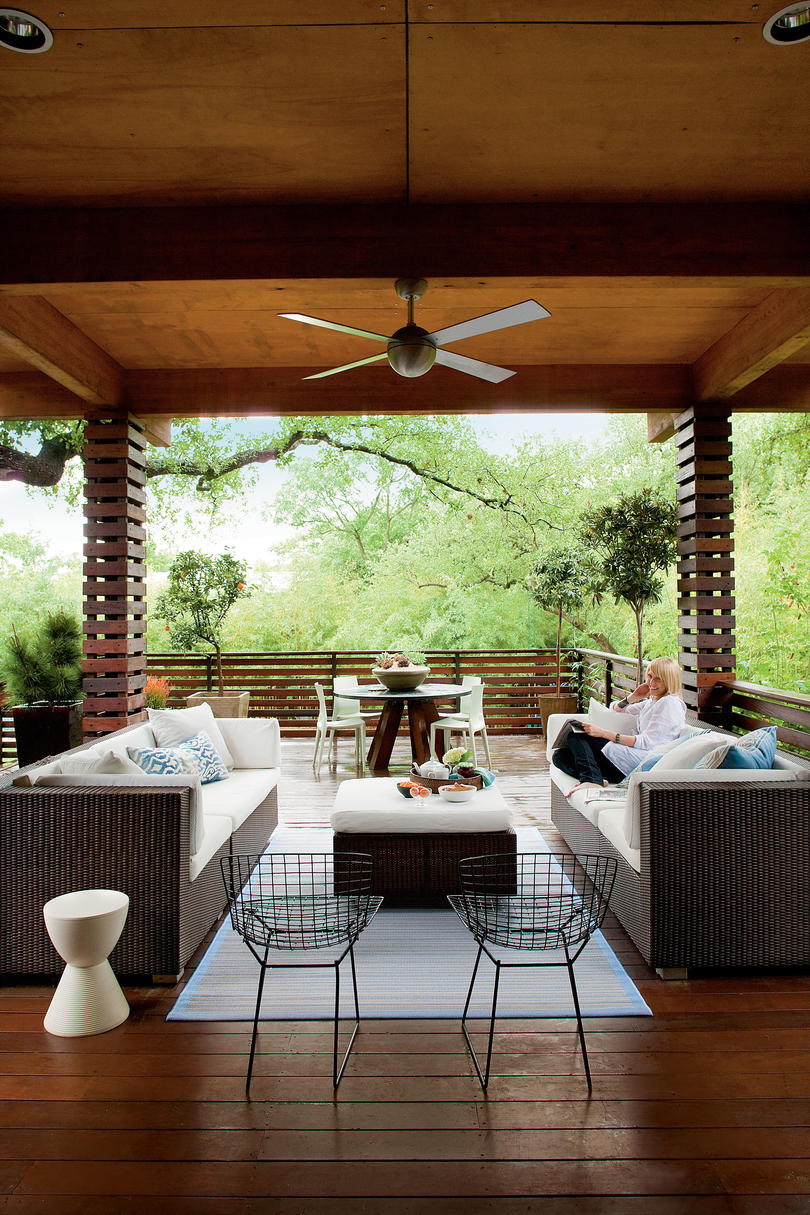 80 Porch and Patio Design Ideas You'll Love All Season ... on Outdoor Deck Patio Ideas id=21864