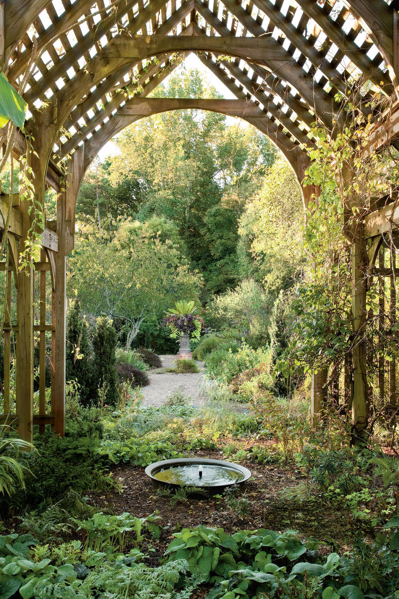 The South S Best Gardens Southern Living