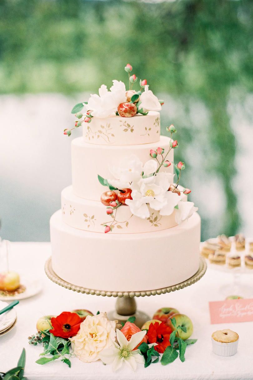 Fresh Fruit Wedding Cakes   Southern Living Apple of My Eye
