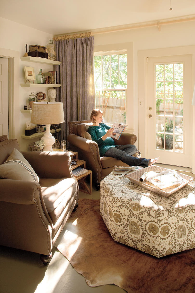 A Living Room Redo with a Personal Touch: Decorating Ideas ... on Living Decoration Ideas  id=95561