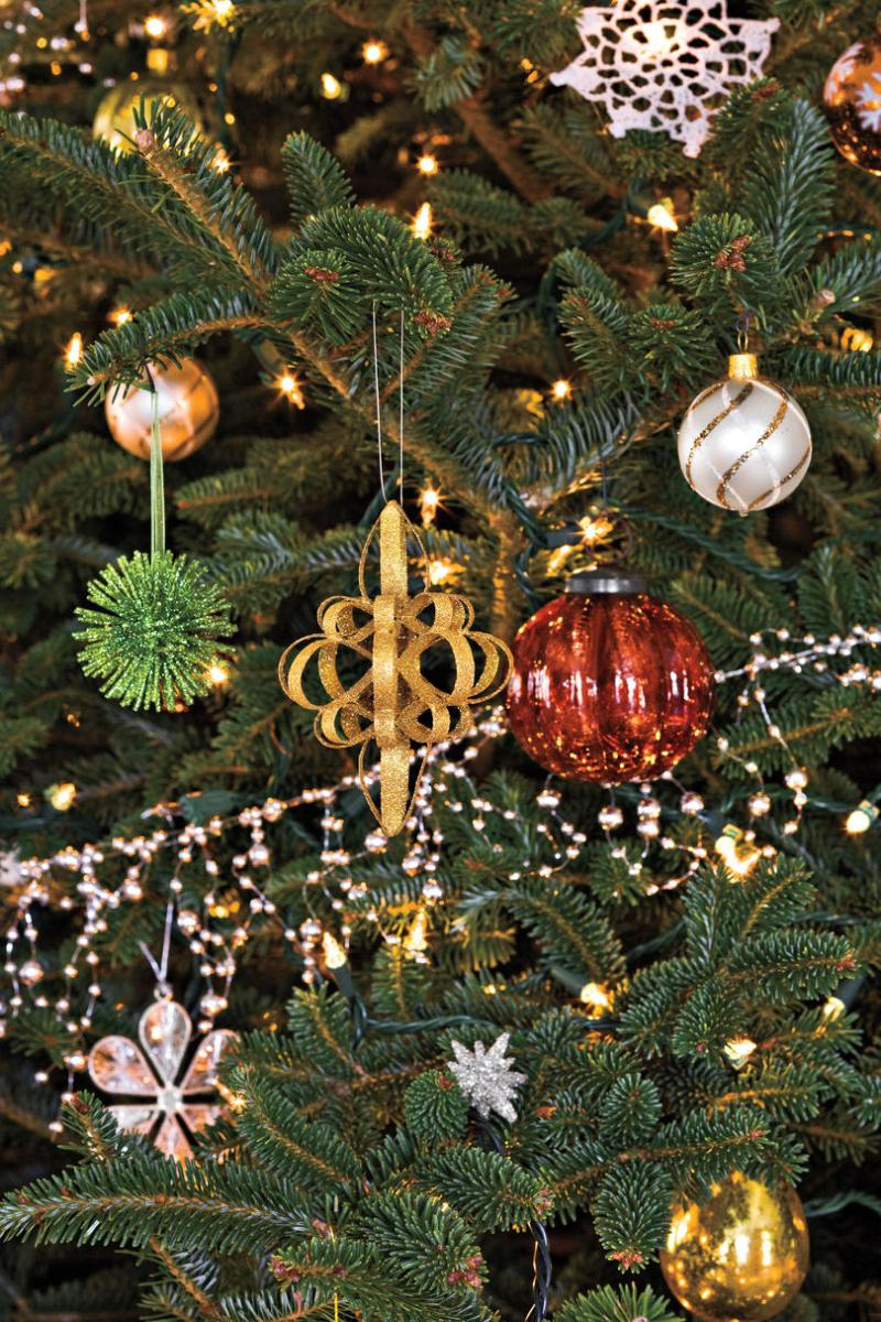 What do you get if you eat christmas decorations for Decoration get