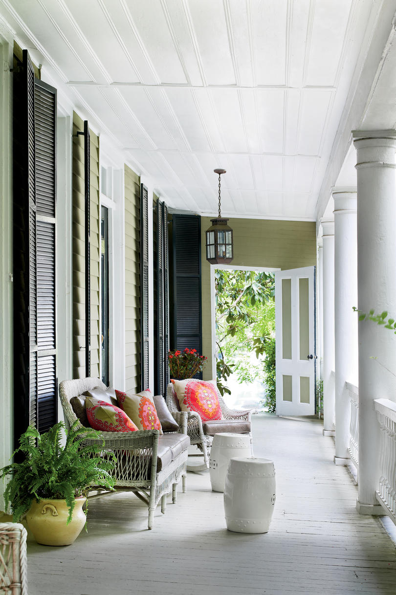 Southern Front Porches