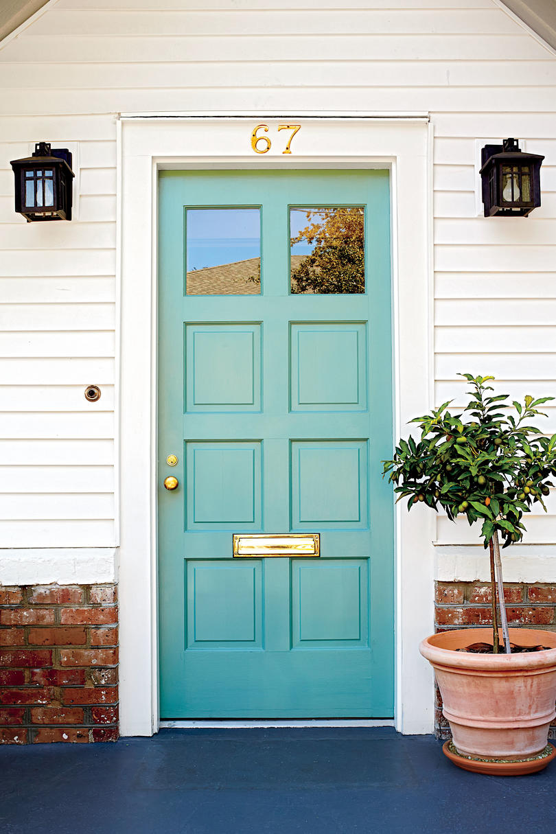 Spring Front Door Paint Ideas That Will Give Your Exterior ... on Door Color Ideas  id=11443