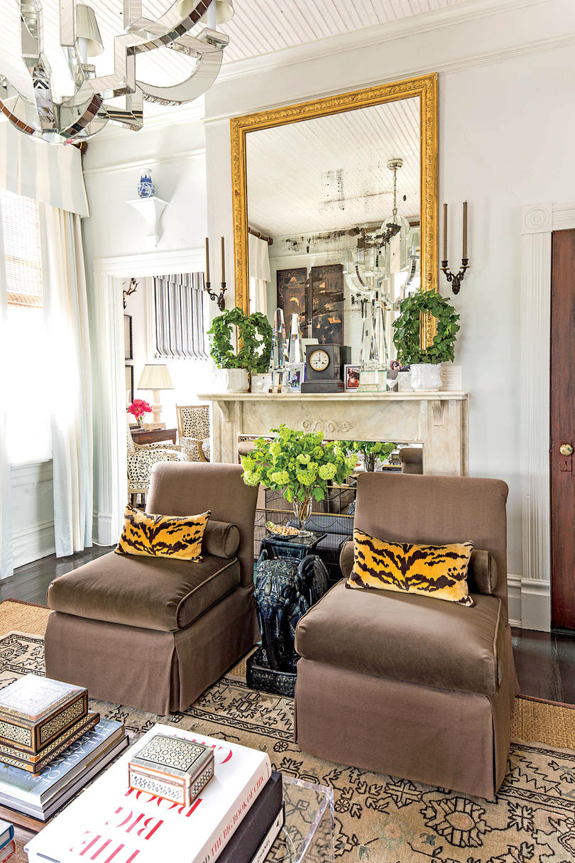 50 Best Small Space Decorating Tricks We Learned in 2016 ... on Small Space Small Living Room With Fireplace  id=28814