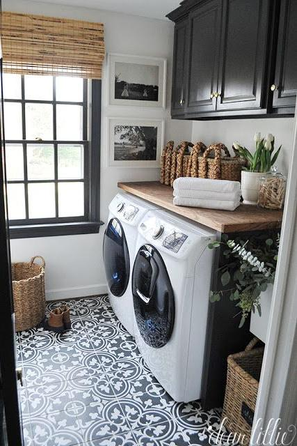 10 laundry room ideas we re obsessed with southern living on laundry room wall covering ideas id=45144