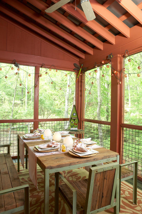 16 Ways to Spice Up Your Porch Décor for Fall - Southern ... on Porch & Patio Casual Living id=24909