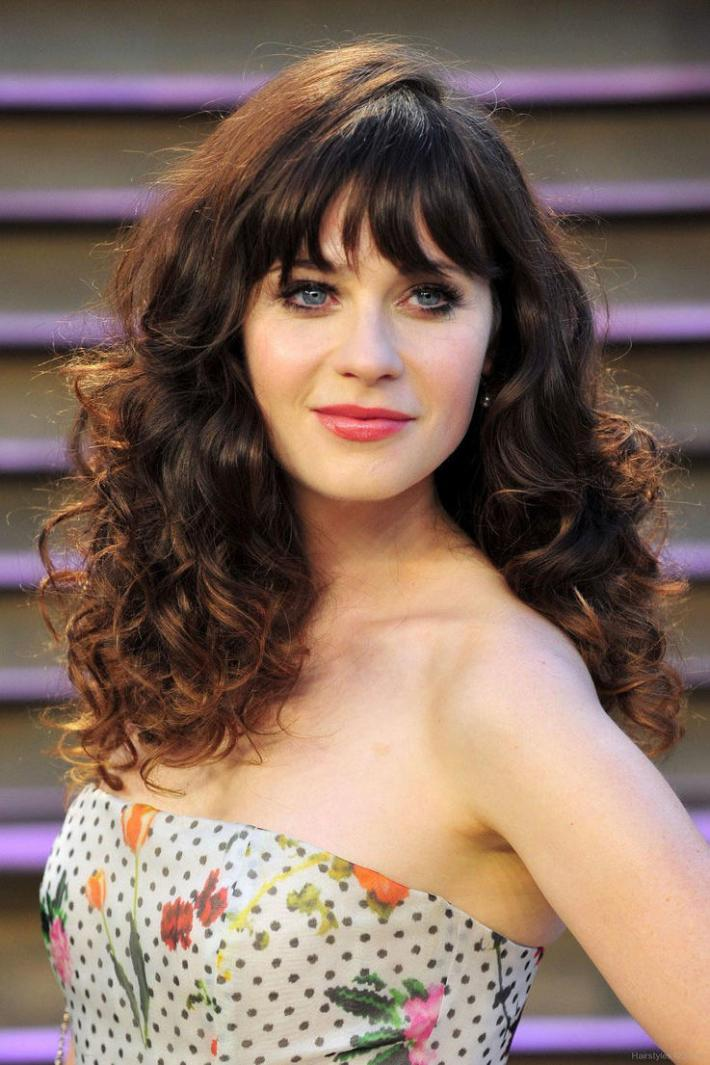 the best curly hairstyles for oval faces - southern living