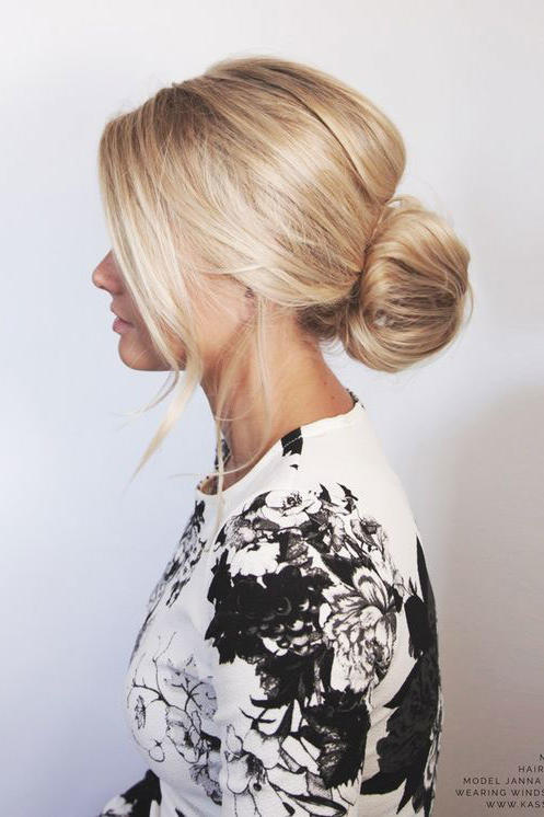 Messy Bun Hairstyles Thatll Still Have You Looking