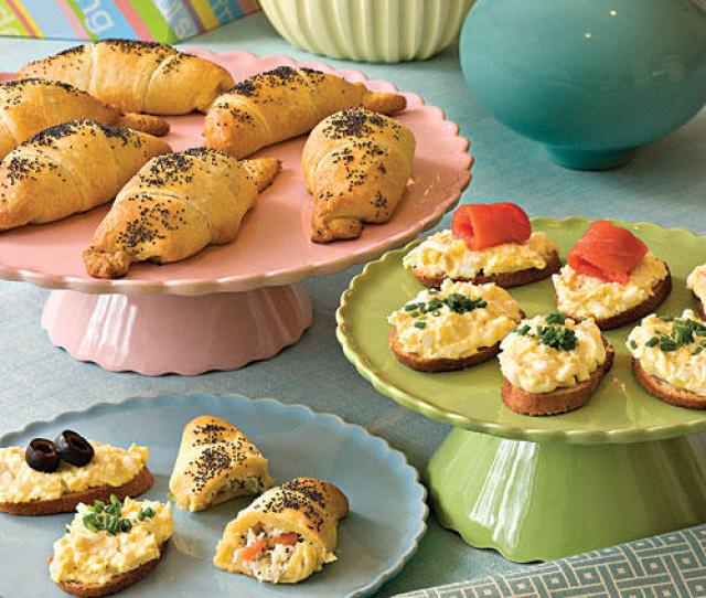 Dainty Pick Up Foods Frosted Sandwiches Finger Sandwiches
