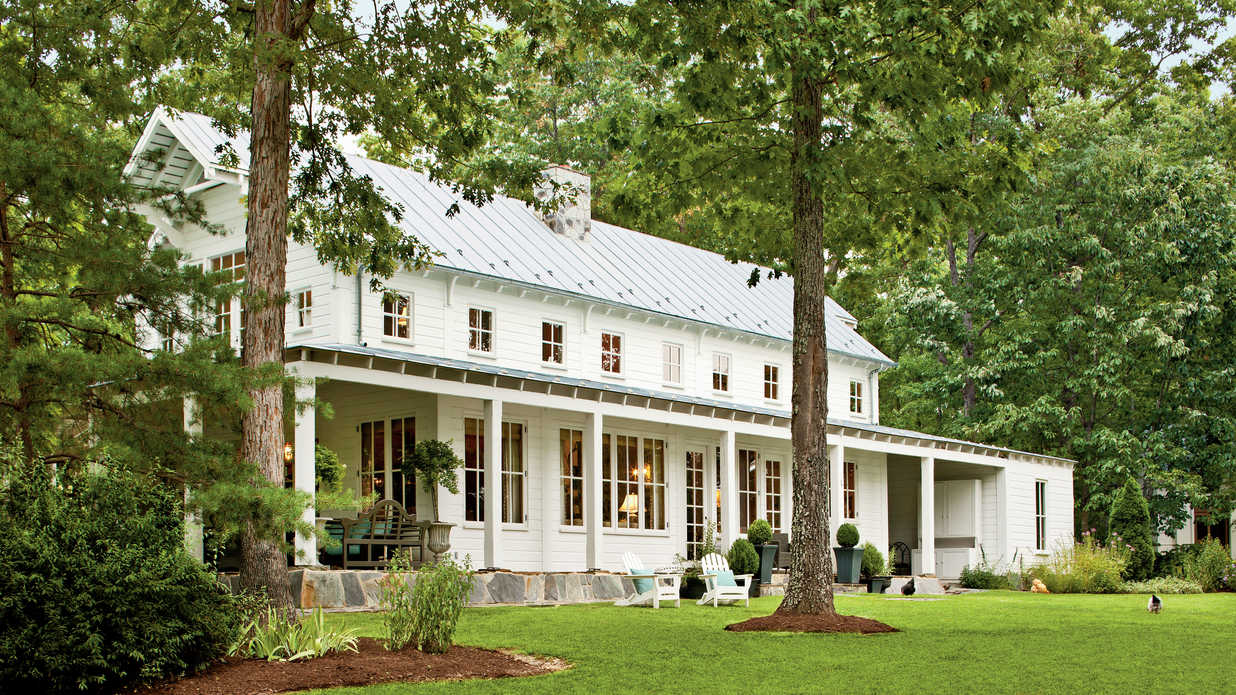 Country Style Home Southern Living