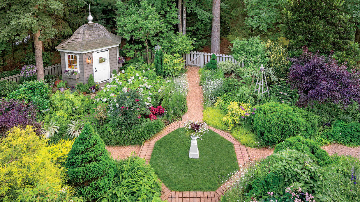 Virginia Cottage Garden - Southern Living on Bungalow Backyard Ideas id=74133