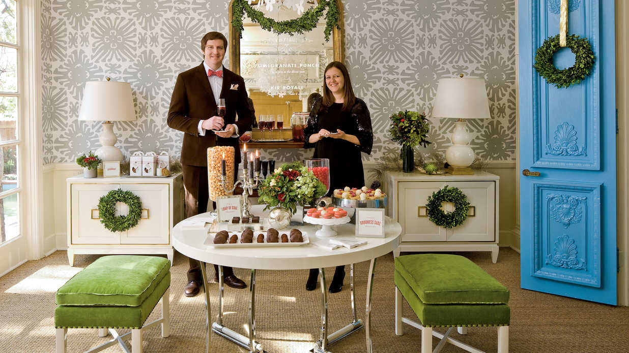 Christmas Party Ideas Glam Christmas Cocktail Southern